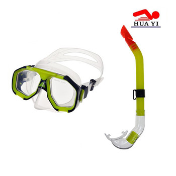PVC diving good price durable swimming mask and snorkel