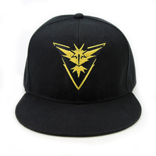 Pokemon Go Baseball Hat poket monsterTeam Mystic InstInct Valor Embroidery Cap Cosplay Hat