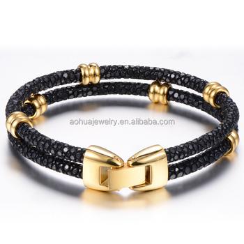 e6d2a6b53c40 Pulsera de moda 2018 joyería 14 K oro perlas al por mayor para mujer  pulseras de