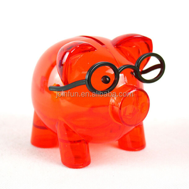 Custom piggy bank;Custom plastic piggy bank;Plastic piggy bank for kids