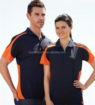 29a9f2ca7 Custom Black Orange Polo Shirt With Logo Embroidery - Buy Black ...
