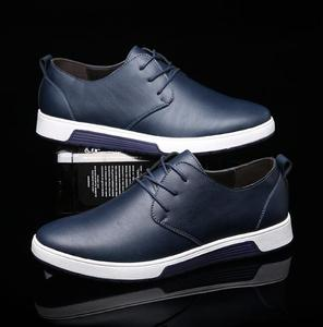 zm10530a 2016 Good quality England leather men's casual shoes