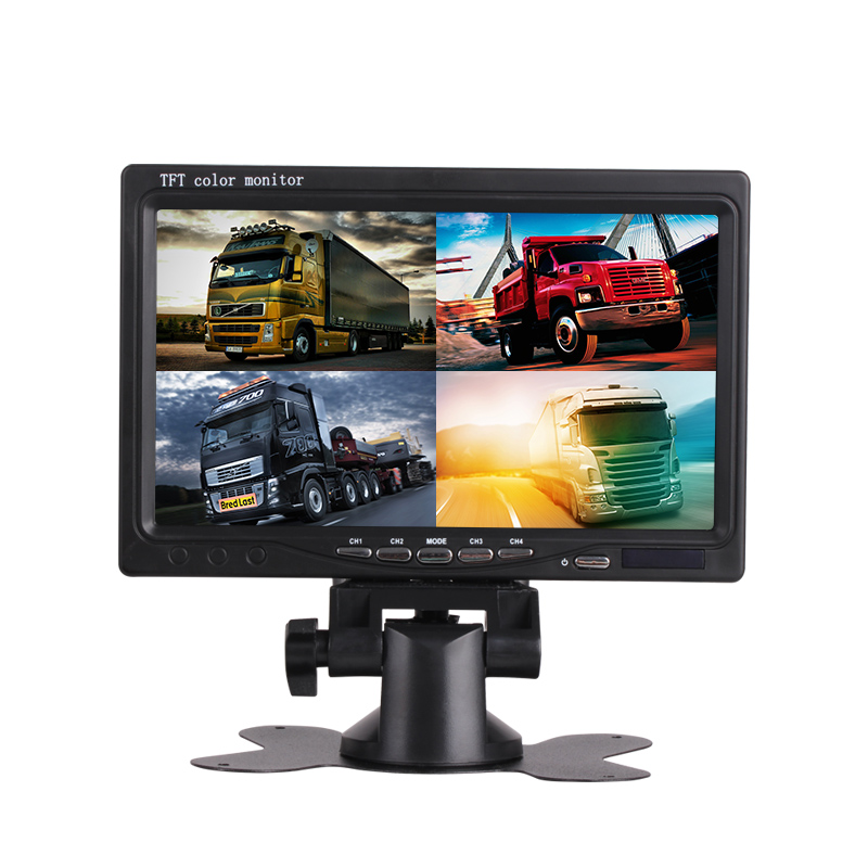 Yoelbaer High Quality Car Monitor 7 Inch Car Rearview Monitor Car Back Seat LCD Monitor With Bluetooth MP5