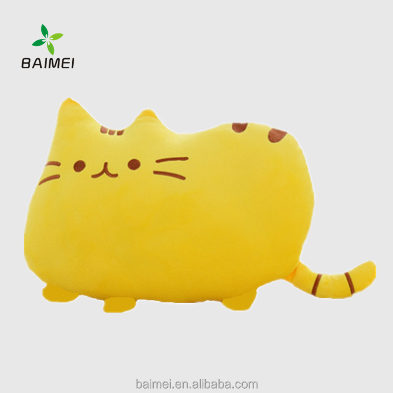Biscuit Stuffed Cat Pillow/Wholesale Cheap Cat Body Pillow