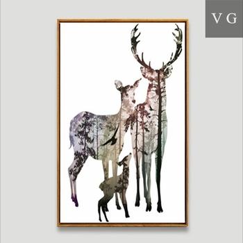 Pared Colgante Adornos Art Deco Vintage Pared Marcos Hoja Diseños ...