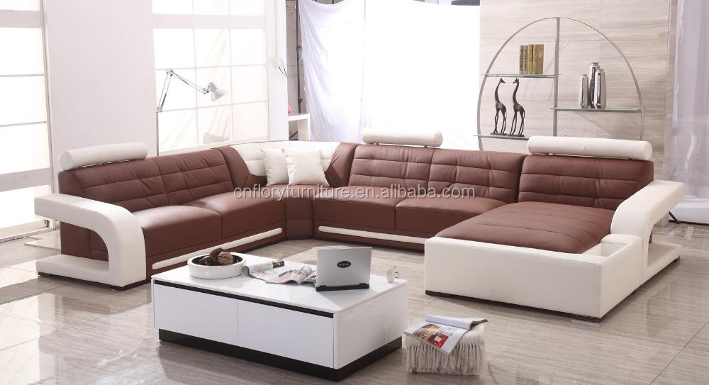 2015 new design LED light sofa F895