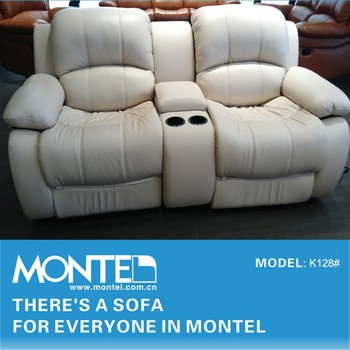 Modern Manual Recliner Sofa With Cup Holder Buy Manual Recliner