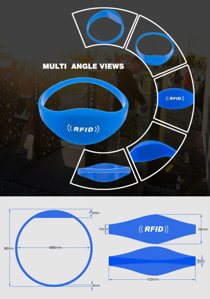 Custom Color Rfid Silicone Sporty Band Ring Bracelet Nfc Ntag213 Wristband  For Gym Sport Event Running - Buy Natg213 Bracelet,Nfc Ntag213,Ntag213