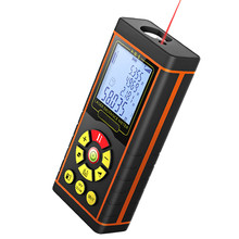 H-model Handheld Laser Distance Meter 40M 60M 80M 100M Mini Laser Rangefinder for Diastimeter Measuring