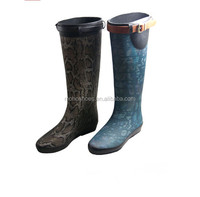 Shiny And Sexy Girl Horse Riding Rubber Rain Boots With Fashion ...