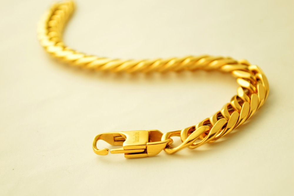 Gold Bracelet Design Mens 18k Yellow For Men S