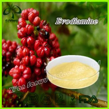 Evodia rutaecarpa extract powder high quality evodiamine