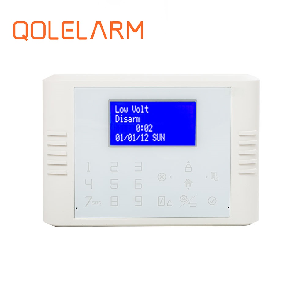 2017 NEW self monitoring wireless mms gsm home alarms with Call /SMS alert