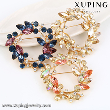 00040 Xuping flower brooch,crystal Brooch,Rhinestone Brooch