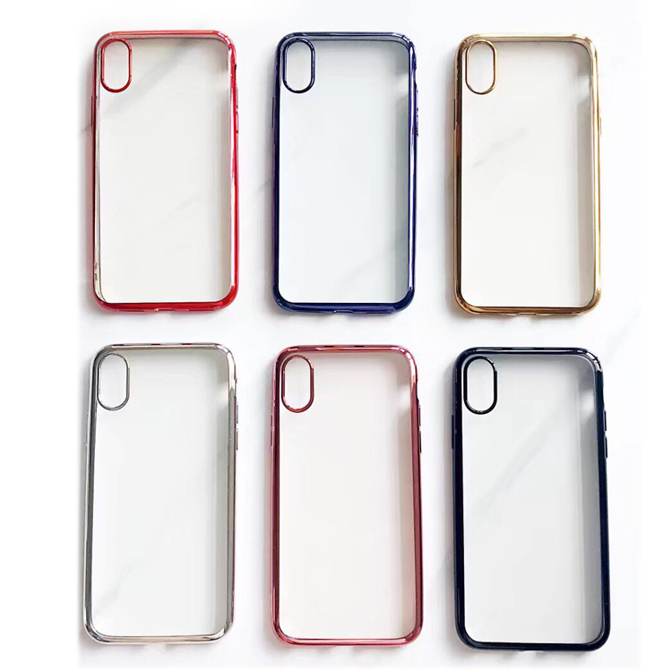 For iPhone X Custom Phone Case Cover , Bulk Wholesale Clear Cell Phone Case