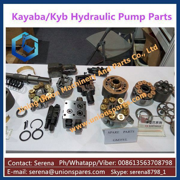 hydraulic spare piston pump parts for excavator KYB/Kayaba KYB-25CC IHI45 Kubota KX040/K045