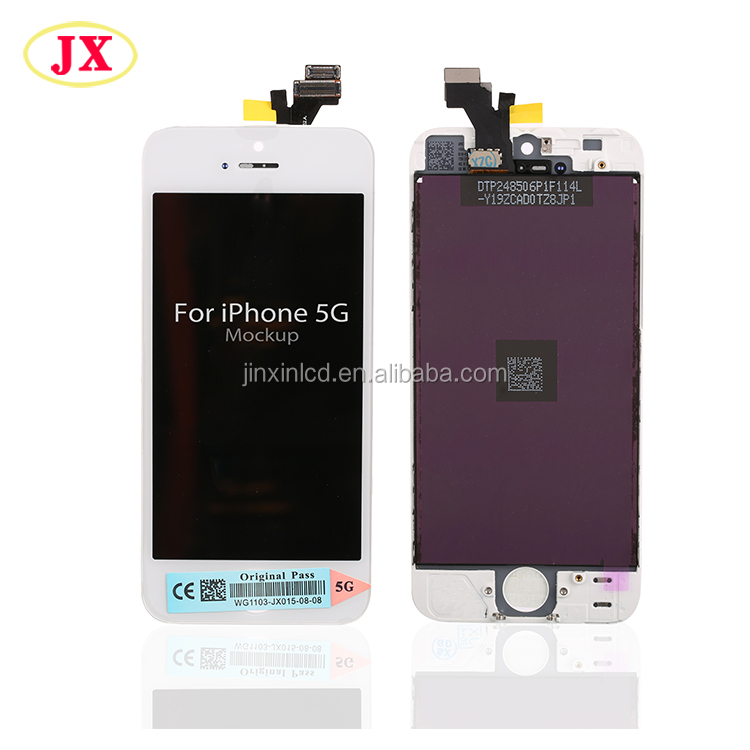 Mobile phone lcd display+ touch for apple for iphone 5 5g with free DHL