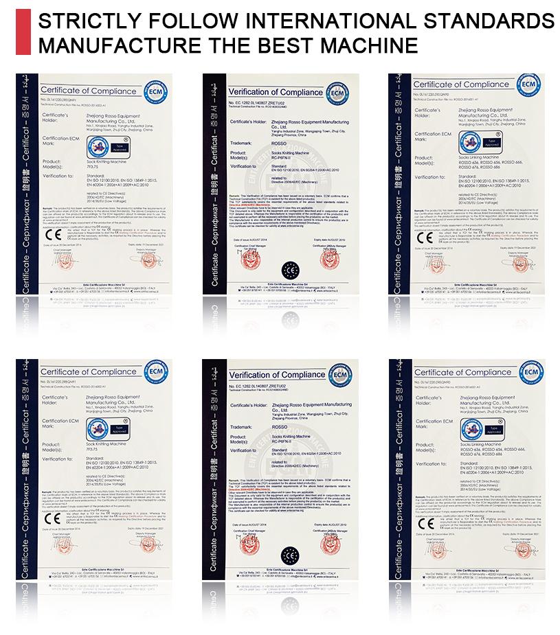 Endüstriyel bilgisayar kontrollü otomatik çorap örme makinesi