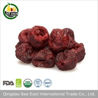 free sample healthy snack fruits freeze dried red sour cherry price
