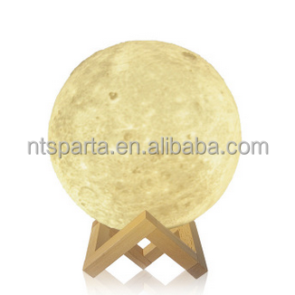 New design moon shape himalayan rock salt lamp wholesale
