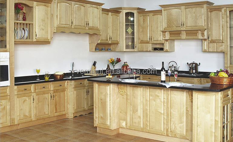 Veneer Laminated Wood Door Kitchen Cabinet Design Import From China Buy Kitchen Cabinet Veneer