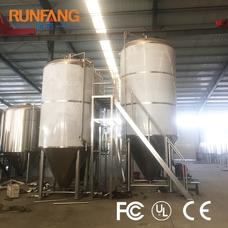 Jacketed Fermentation Tank Craft Beer Fermenting Equipment Craft Beer Brewing Solution