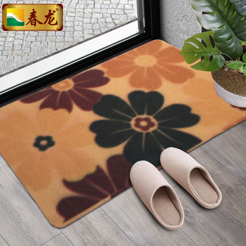 Korean Door Bathroom Living Room Large Plastic Liquid Floor Mat