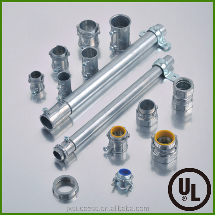 UL Listed EMT Conduit Connector Electrical Fittings Pipe