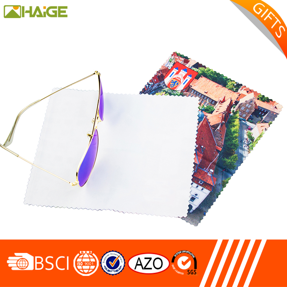 high pile-low pile professional oil absorbing microfiber glasses cleaning cloth
