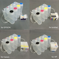 New arrival product easy to refill 500ml ciss ink tank for Epson,HP,Canon and brother inkjet printer