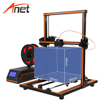 Anet 3d printer E12 easily assembled large printing size 3d metal printer