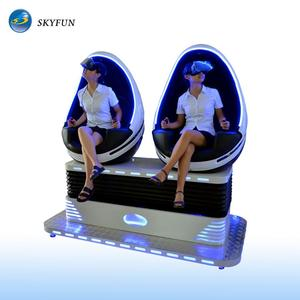 Fashion game machine 9d vr egg cinema vr chair real experience 9d simulator for hot sales