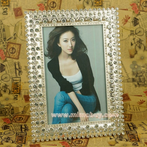 Crystal New Metal Photo Frame Wholesale acrylic picture frame beautiful photo frames(MFX012)