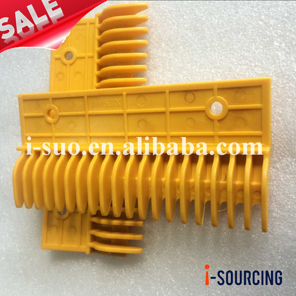 High standard X129AR1 20 teeths middle plastic comb plate for escalator