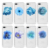 Beautiful flower clear cell phone 3d sublimation phone case tpu for iphone