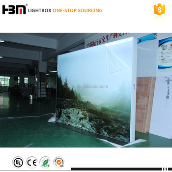 Fabric Exhibition Stand : Double face fabric exhibition stand equipment floor standing trade