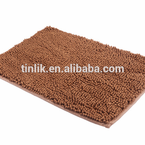 Factory 40x60cm Microfiber Chenille Anti-slip Bath Door Mat