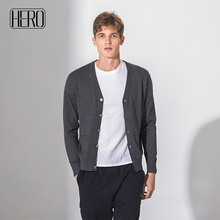 Hero factory China leverancier premium kwaliteit casual regular fit comfortabele plain vest <span class=keywords><strong>trui</strong></span> voor mannen