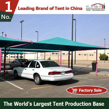 Outdoor Rainproof Carport Tent Car Parking Tent Car Garage Tent For 2 to 6 Cars & Outdoor Rainproof Carport Tent Car Parking Tent Car Garage Tent ...