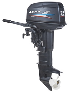 SAIL 2 stroke 25HP outboard motor / outboard engine / boat engine T25