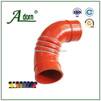 4 rings Coupling 3 ply reinforce steel rings silicone hose