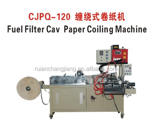 Automatic Coiling Machine Oil Filter Making Machine for Fuel Filter Element , 10 - 40pcs / min 2016