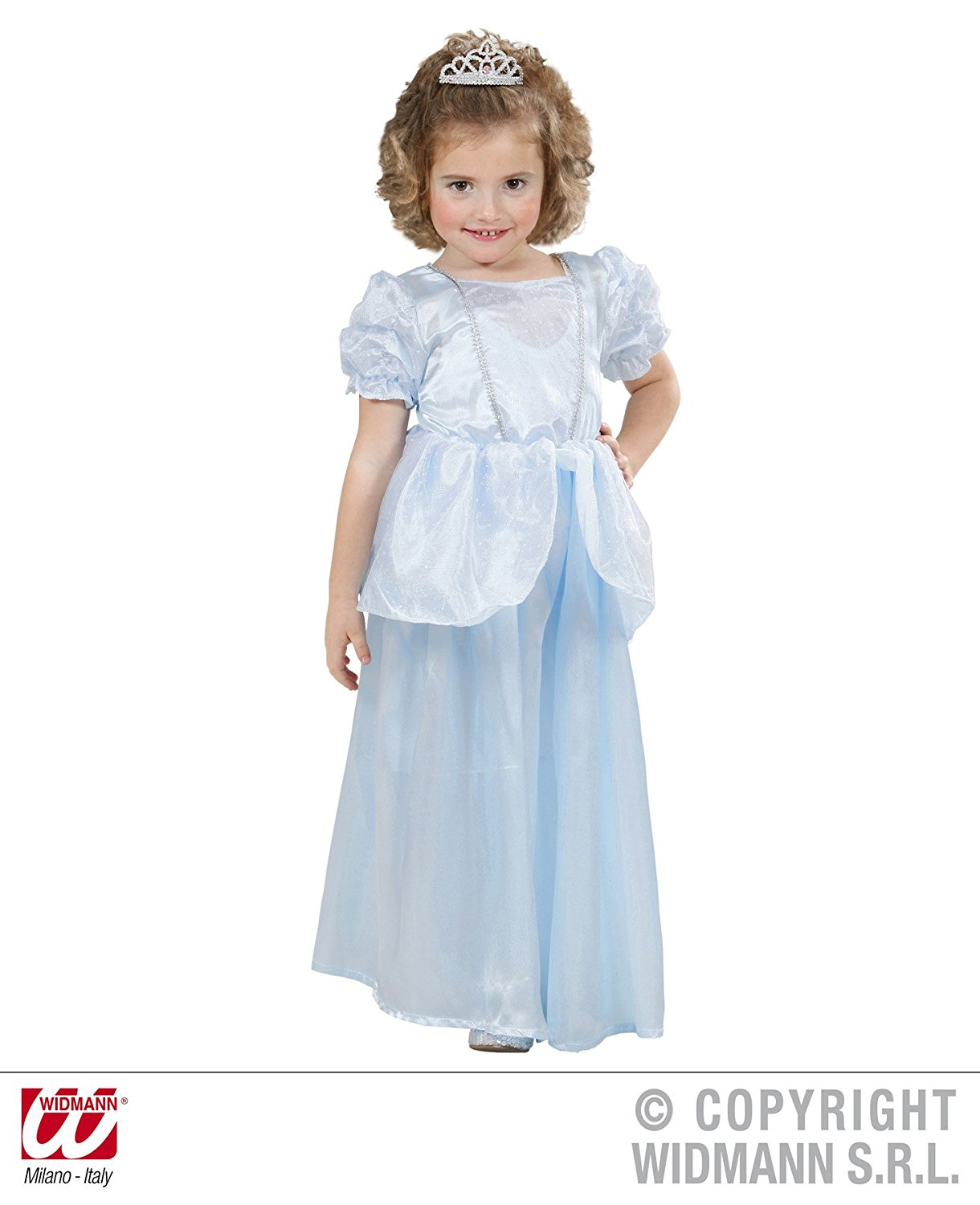 31ba68d168ded1 Get Quotations · Children's Princess Dress Light Blue Costume Baby 1 2 yrs  98cm for Medieval Knight Fancy Dress