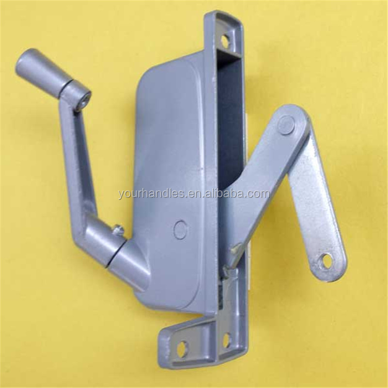 Louver window operator with crank handle,Zinc Jalousie Casement Window Operator