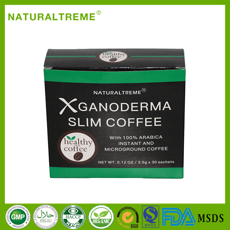 Free Shipping Ganoderma Slimming Deliciously <strong>Coffee</strong> with Green Tea Extract