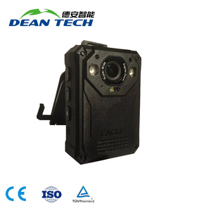 Newest Wide View 40 Megapixel IP68 Body Worn Camera with Infrared Night Vision with Wifi Live Stream on Mobile Phone
