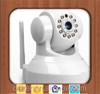 wifi GSM Home smart security system C42 ,use phone to move webcam