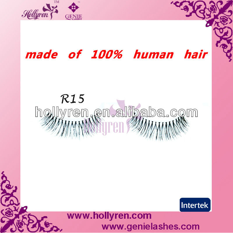 100% Human Hair High Quality Strip Lashes