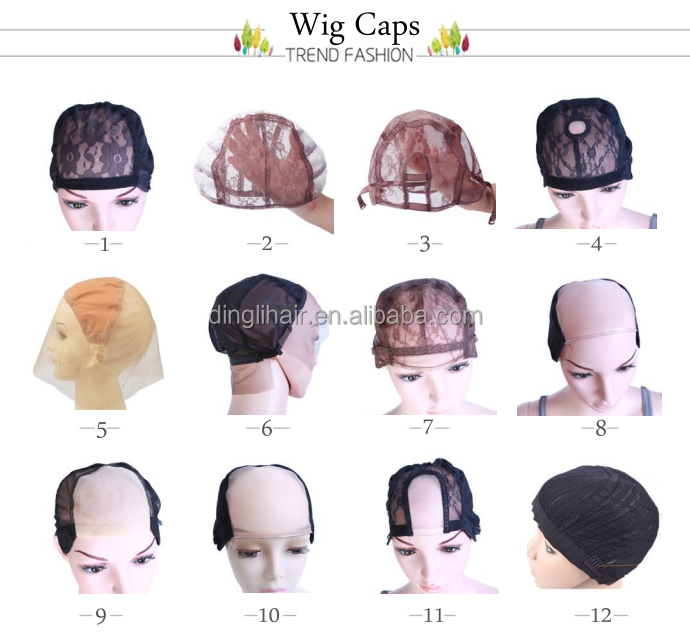 Comfortable Cap Different Kinds Of Lace Wig Caps U Part Wig Cap ...