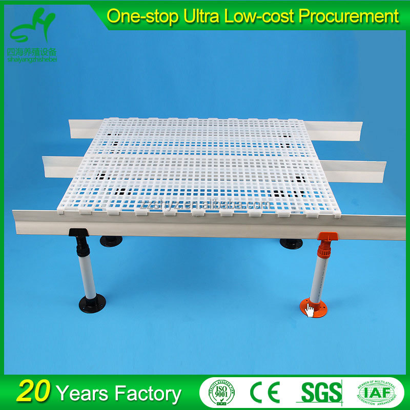 Poultry equipments plastic slat chicken house floor